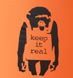 Keep It Real - Printed BigBoy @ Bigboybeanbag.ie