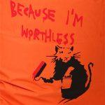 worthless - Printed BigBoy @ Bigboybeanbag.ie